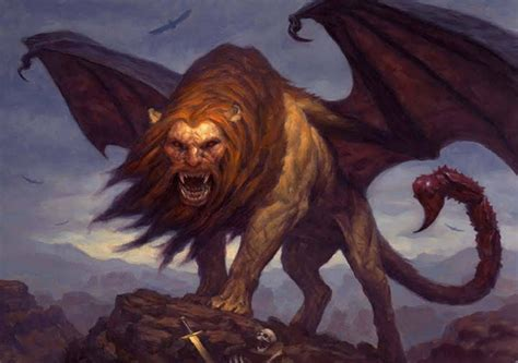 mythical creatures mythic