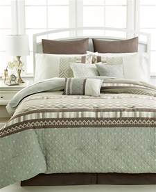 10 comforter set king sunham eames 10 8 king comforter set green