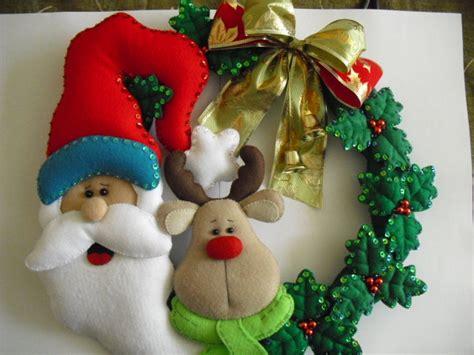 Imagenes Navidad Manualidades | navidad fieltro aprender manualidades es facilisimo com
