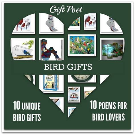 10 bird gifts paired with poems for birdwatchers gift poet