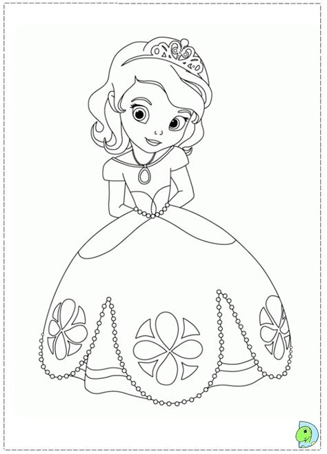 free sofia mermaid coloring pages
