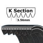 k section v belt multi ribbed poly v belts j k l m section ribbed poly