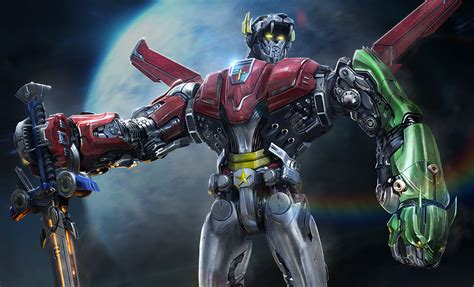 new voltron movie voltron defender of the universe voltron premium art