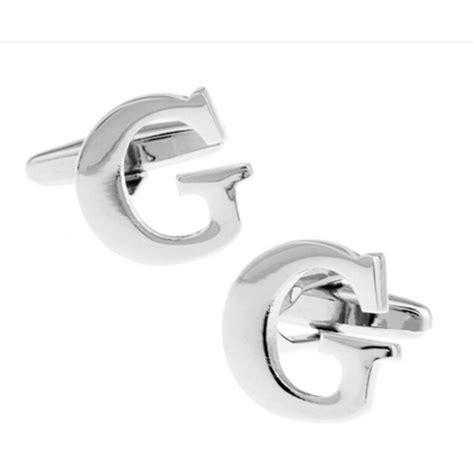 Alphabet Script G Cufflinks alphabet g cufflinks cufflinkopolis cufflinks tie and accessories