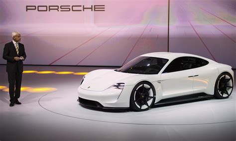 new porsche electric porsche s new mission e electric car better than a tesla