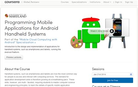 online tutorial for android application development 7 websites to learn android programming development online