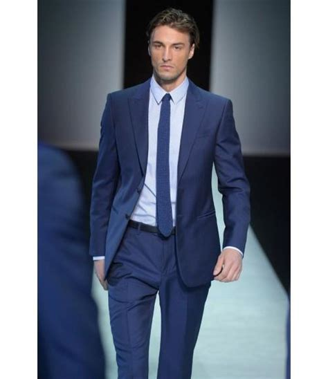 best edc prom looks for guys semi formal evening wear tuxedos with two button blue