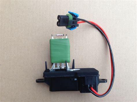 blower motor resistor values r006 1 new hvac blower motor resistor oem 12135104 1580560 158617 20070