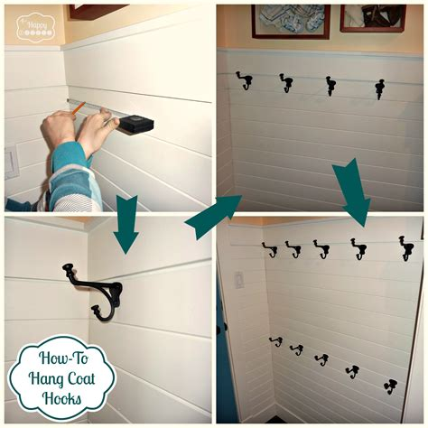 coat hanging ideas diy hang it up a hook hanging how to the happy housie
