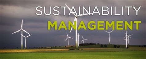 With An Mba In Enviromental Sustainability by Mba In Sustainability Management Career