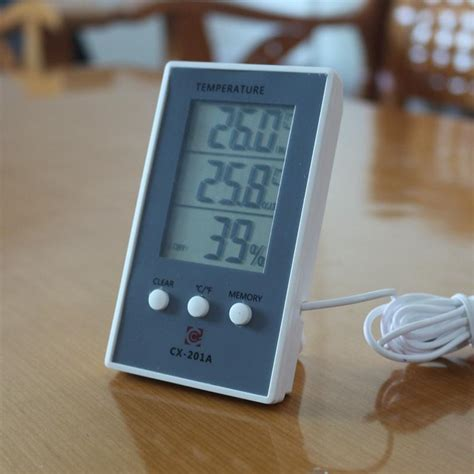 House Humidity Meter New Lcd Digital Thermometer Hygrometer In Out Temperature
