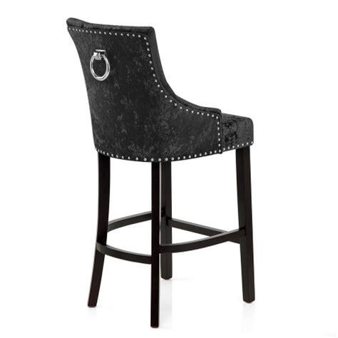 Black Velvet Counter Stool ascot bar stool black velvet atlantic shopping