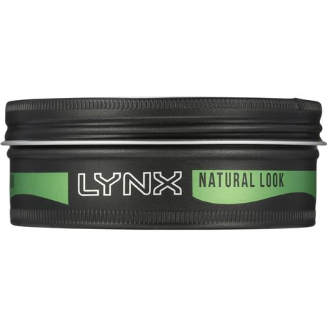 Hairstyle Wax Hair Styling Clay by Lynx Hair Styling Wax Black Casual Clay 75ml Woolworths