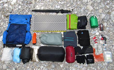 Light Backpacking by Lightweight Backpacking Gear Ausr 252 Stung Ultraleicht A