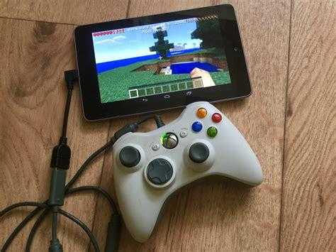 best android with controller support how to play minecraft pocket edition with an xbox 360 controller 0 12 tutorial android