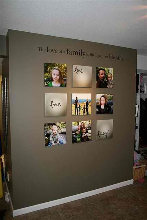 gallery wall ideas love family photo wall ideas
