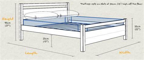 Standard Bed Frame Sizes Standard Bed Frame Height Expert Adviser Mattress Comparisons What Is The Height Of A Standard