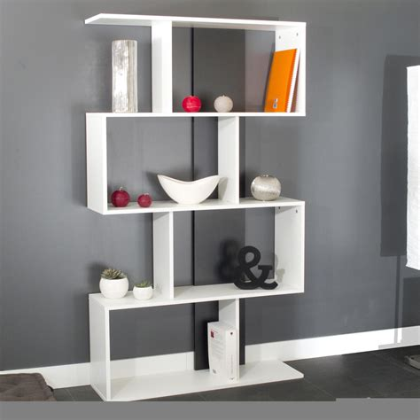 Design Ideas For Etagere Furniture Etag 232 Re Design Coloris Blanc Noir Caly Biblioth 232 Que Et 233 Tag 232 Re Meuble De Salon Salon