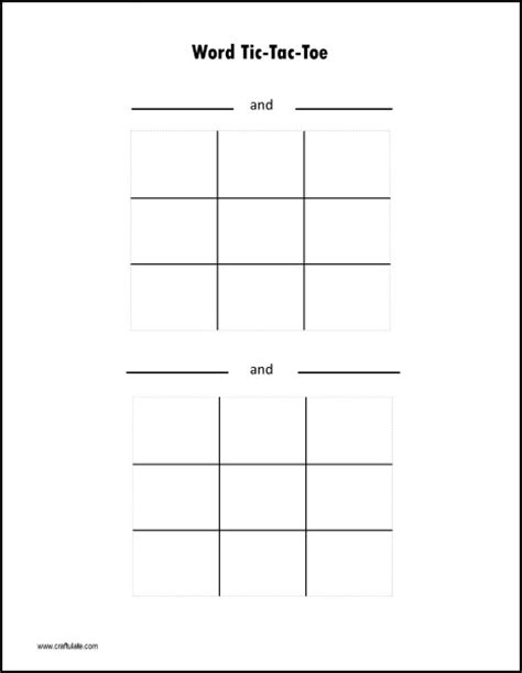 tic tac toe template word tic tac toe template word images templates design ideas