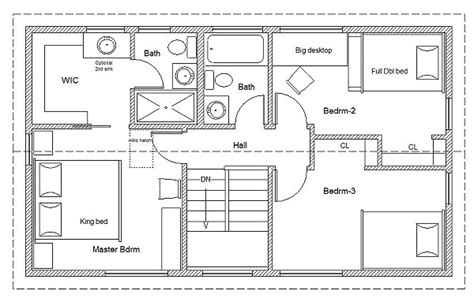 house with attic floor plan how to read house plans and blueprints diy home maintenance