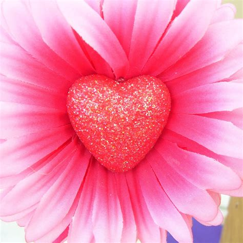 wallpaper flower and heart i love pink hearts and flowers wallpapers pinterest