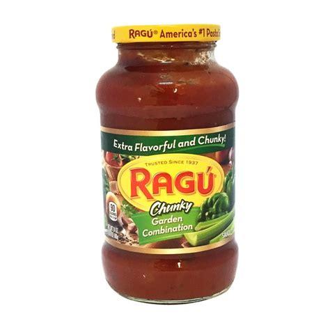 ragu chunky pasta sauce garden combination 24 oz jet com ragu chunky garden combination pasta sauce from mariano s