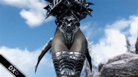 skyrim hot daedric armor daedric reaper armor skyrim mod youtube