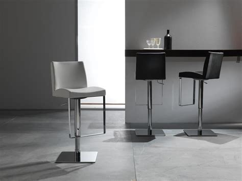 sgabelli moderni elegante sgabello con seduta in pelle regolabile in