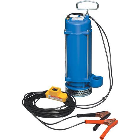 12v water pump portapump 12 volt submersible water pump 2580 gph 1 3