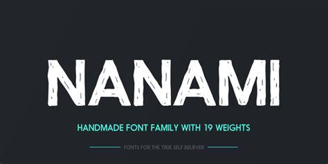 Font Handmade - nanami handmade kreativ