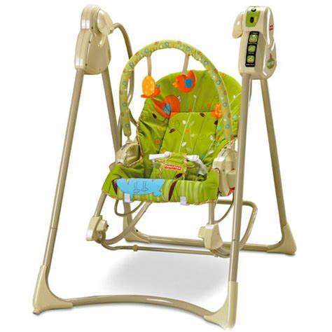 baby swing up to 40 lbs fisher price swing n rocker swings