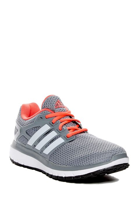 lyst adidas originals energy cloudfoam running shoe in gray for