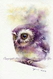 water color owl 25 best ideas about owl watercolor on owl