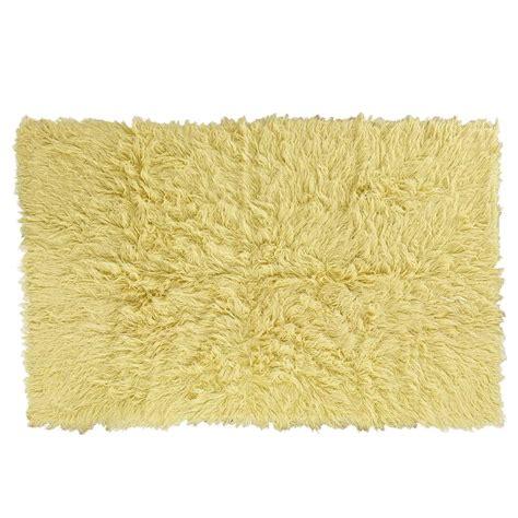 flokati rug uk flokati rug 1400g m2 170x240cm yellow 1 pashmina pashminas co uk