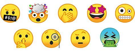 emoji baru begini tilan emoji baru pada android o techijau