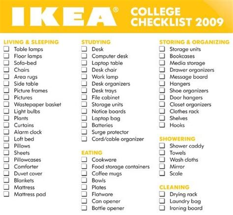 room packing list 25 best ideas about college checklist on