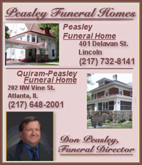 peasley funeral homes