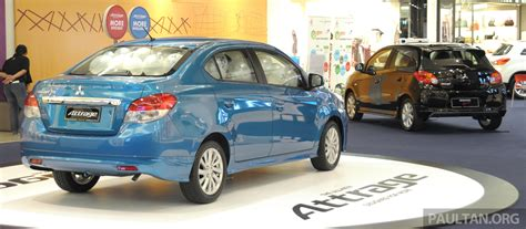 Mitsubishi Attrage Full Malaysian Specs And Prices Image