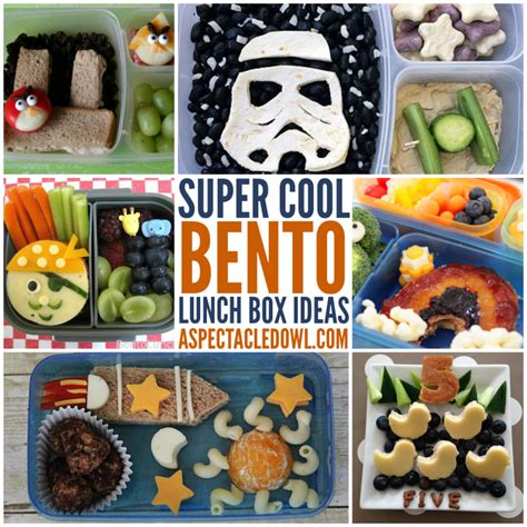 Bento Box Decorations by 25 Cool Bento Lunch Box Ideas A Spectacled Owl