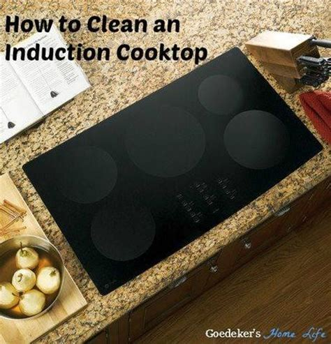 Clean Induction Cooktop how to clean an induction cooktop paperblog