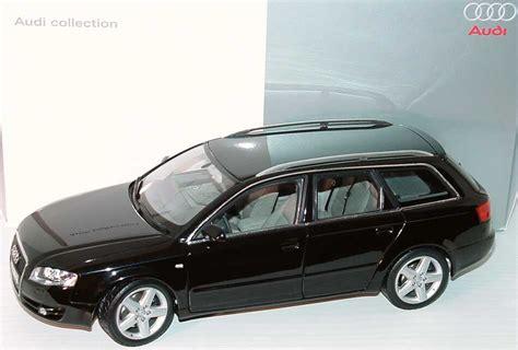 Audi A4 Avant Modellauto by 1 18 Audi A4 Avant Facelift 2004 Phantomschwarz Met