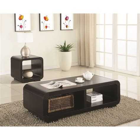 cafe 3 piece occasional set coaster occasional sets 700794 2 piece contemporary