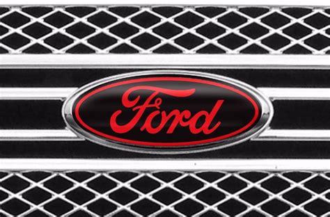 Ford Schriftzug Aufkleber by Ford Overlay Emblem Custom Decals