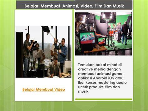 belajar membuat video animasi ppt belajar membuat animasi video film dan musik