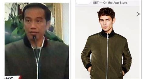 Jaket Anak Lagi Heboh hebohnet bikin heboh jaket bomber jokowi diberitakan
