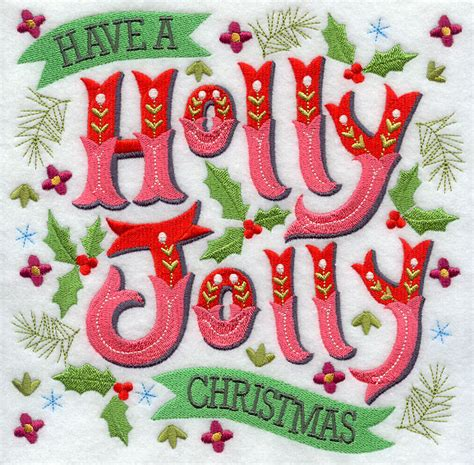 have a jolly holiday with machine embroidery designs at embroidery library