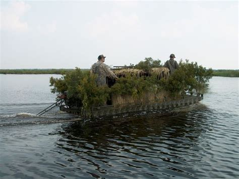tips for duck hunting out of popup boat blinds - Duck Hunting From A Boat Regulations