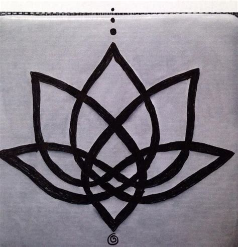 lotus knot tattoo 1 celtic knot lotus tattoo tats i dig pinterest