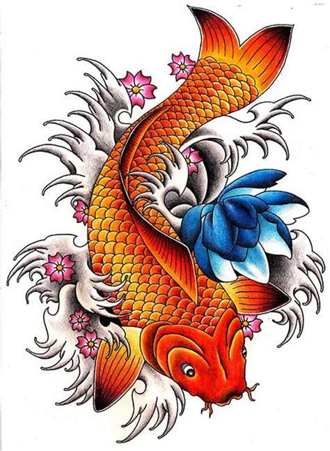 tattoo pez koi naranja gnomos imagens de tatoo pesquisa google ideias de