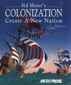 sid meier's colonization wikipedia